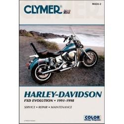 MANUAL REPARACION HARLEY DAVIDSON EVO DYNA GLIDE 91-98