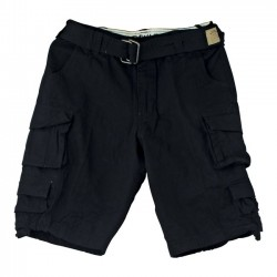 PANTALON FOSTEX STONE WASHED SHORTS BLACK