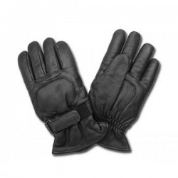 Al63 BLACK LEATHER GLOVES