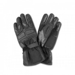 AL57 BLACK LEATHER GLOVES
