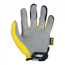 WORK GLOVES ORIGINAL 0.5MM. MECHANIX BLACK/YELLOW