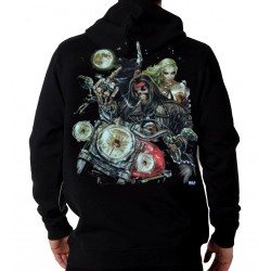 SUDADERA WILD MOON MOTORBIKE (OUTLET)