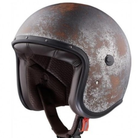 CASCO JET CABERG FREERIDE STAR NEGRO MATE