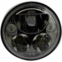 "OPTICA LED CROMADA 5 3/4"" HARLEY DAVIDSON"