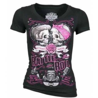 CAMISETA MUJER LETHAL ANGEL RATTLE N ROLL