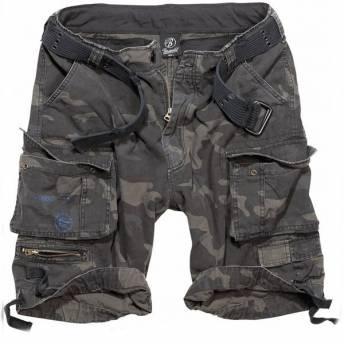 pantalon-fostex-stone-washed-shorts-green