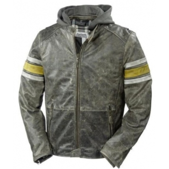 HIGHWAY 1 LEATHER JACKET SCORCH