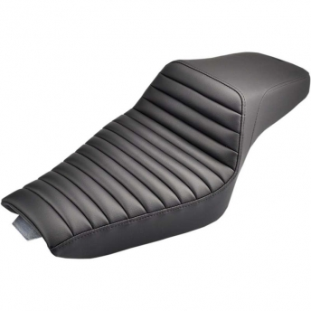 ASIENTO GEL SADDLEMEN STEP UP TR BLACK 17LT HARLEY SPORTSTER 04-18