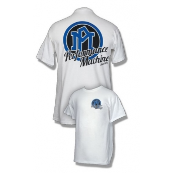 CAMISETA BLANCA PERFORMANCE MACHINECLASSIC (OUTLET)