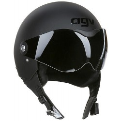 CASCO AGV DRAGON MATTE BLACK (OUTLET)