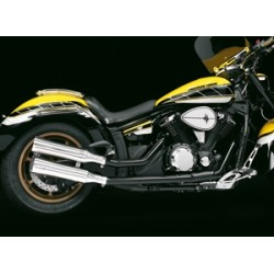 ESCAPE HONDA VT750C4 + C5 + C6 SHADOW/VT750DC FLAT TRACK BLACK