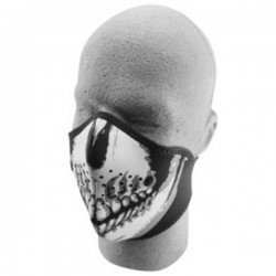 NEOPRENE FACE MASK SKULL