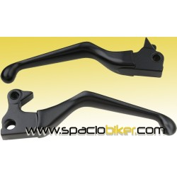 "MANETAS DE FRENO Y EMBRAGUE NEGRO ""POWER GRIP"" SPORTSTER 2007-10"