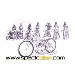 POSTER EARLY RACER 40X30