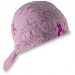BREAST CANCER PINK PAISLEY BANDANA FLYDANNA ®