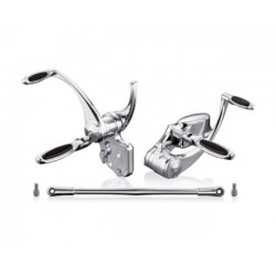"FORWARD CONTROL 1 ""CHROME HARLEY SOFTAIL 00-06 ELIPSE"