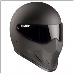BANDIT FULL FACE HELMET CRYSTAL MATTE BLACK