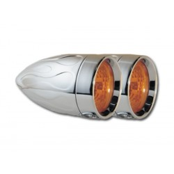 LUCES ADJURE BEACON HALOGENA AMBAR HARLEY