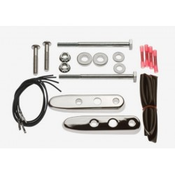 SIGNAL RELOCATION KIT CHROME HARLEY XL 04-11
