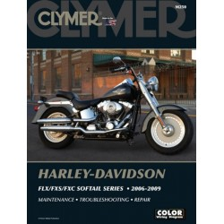 HARLEY DAVIDSON REPAIR MANUAL FLX / FXS / FXC SOFTAIL 06-09