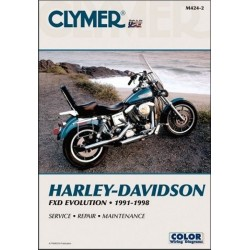 REPAIR MANUAL EVO HARLEY DAVIDSON DYNA GLIDE 91-98