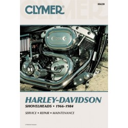 REPAIR MANUAL 66-84 HARLEY DAVIDSON Shovelheads
