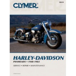 REPAIR MANUAL 48-65 HARLEY DAVIDSON Panheads