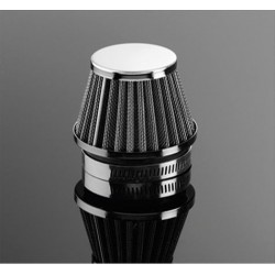 CHROME AIR FILTER 54MM