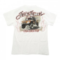 JESSE JAMES T JUMP RACING WHITE
