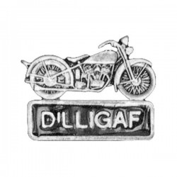MOTORCYCLE PIN DILLIGAF