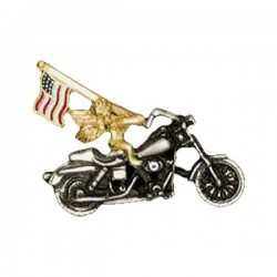 BIKE FLAG PIN ANGEL