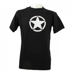 CAMISETA FOSTEX VINTAGE WHITE STAR BLACK