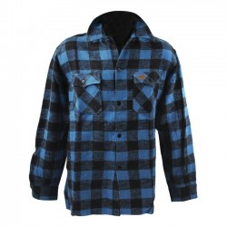 FOSTEX BLUE CHECKERED SHIRT
