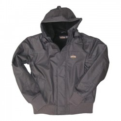 JESSE JAMES SHERPA JACKET CHARCOAL INDUSTRY