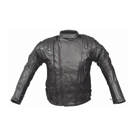 ALEX ORIGINALS LEATHER JACKET BLACK 8040