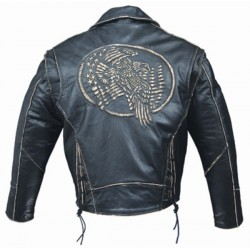 CHAQUETA PIEL ALEX ORIGINALS EMBOSSING