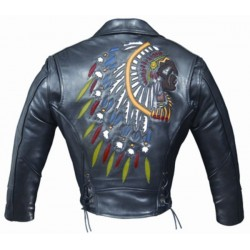 ALEX ORIGINALS INDIAN LEATHER JACKET