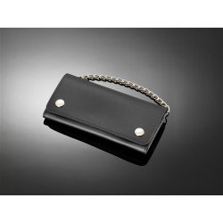 HIGHWAY HAWK LEATHER WALLET WITH CHAIN