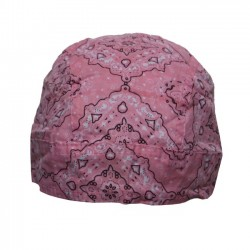 PINK PAISLEY BANDANA COTTON (OUTLET)