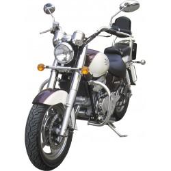 BLACK 30MM MOTOR DEFENSE HYOSUNG AQUILA GV 250