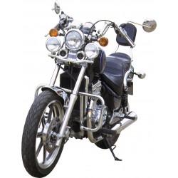 DEFENSA MOTOR 25MM NEGRA KAWASAKI EN500 96-10