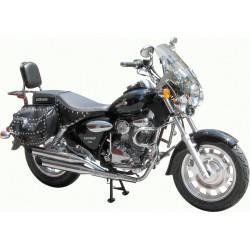 DEFENSE MOTOR KEEWAY 30MM SUPER BLACK LIGHT 125