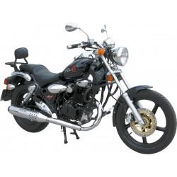 BLACK 25MM MOTOR DEFENSE KYMCO 125 ZING II DARKSIDE