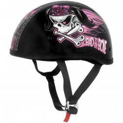 CASCO SKID LID BAD TO THE BONE