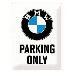 BMW PLATE PARKING GARAGE ONLY