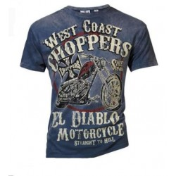 West Coast Choppers T-SHIRT RIDE THE DEVIL
