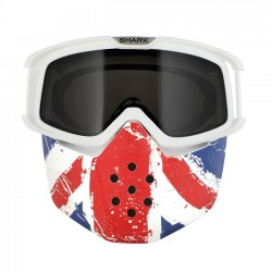 KIT MASCARA Y GAFAS SHARK RAW UNION JACK