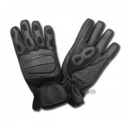 AL26 BLACK LEATHER GLOVES