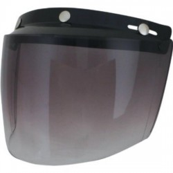 UNIVERSAL DISPLAY AFX HELMET JET SMOKE GRADIENT