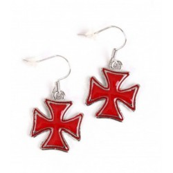 PENDIENTES STAR AND CROSSES